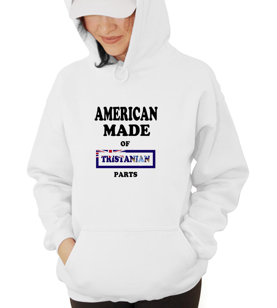 American Made Of Tristanian Parts Hooded Sweatshirt