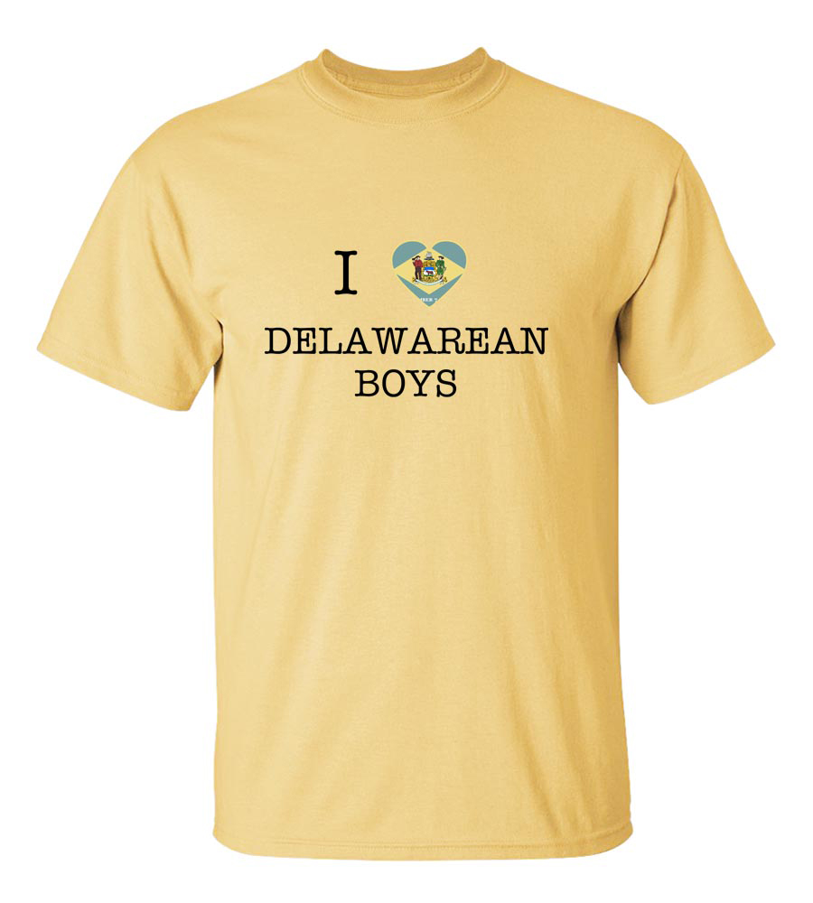 I Love Delaware Boys T-Shirt