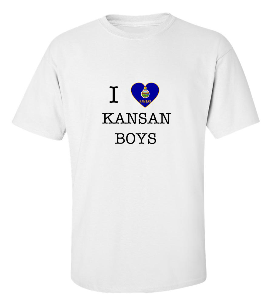 I Love Kansas Boys T-Shirt