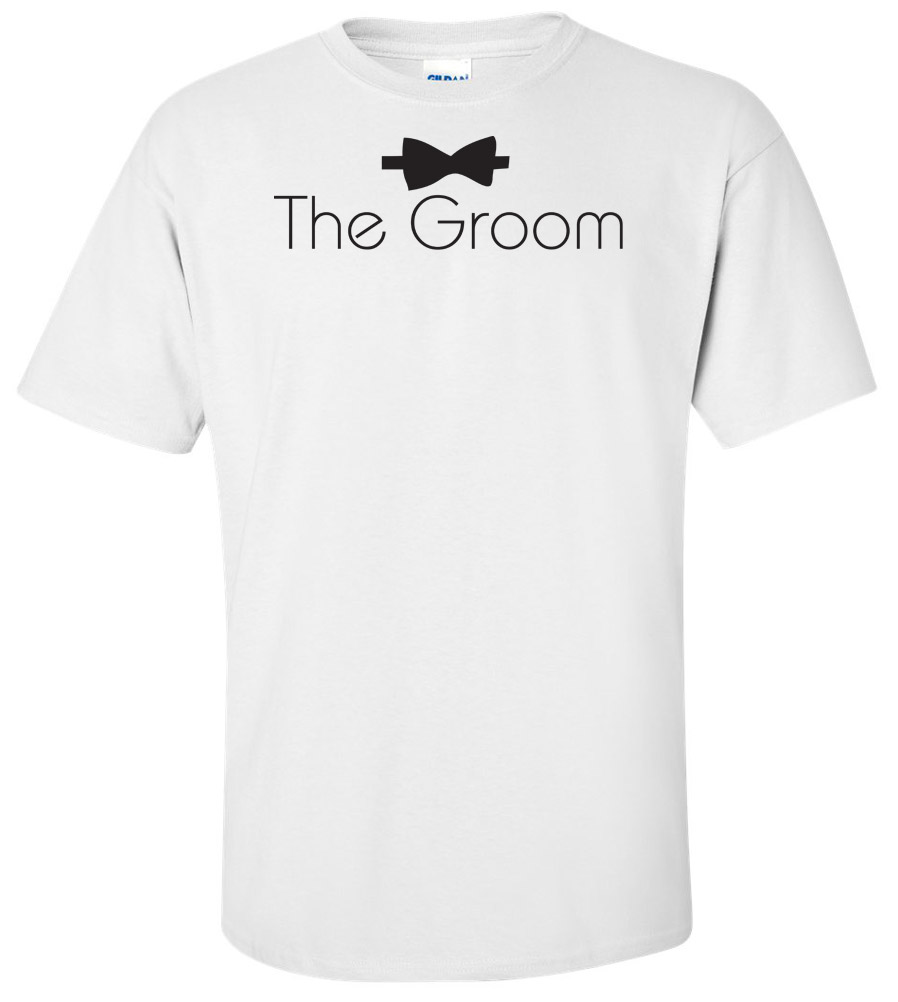 The Groom Wedding T Shirt