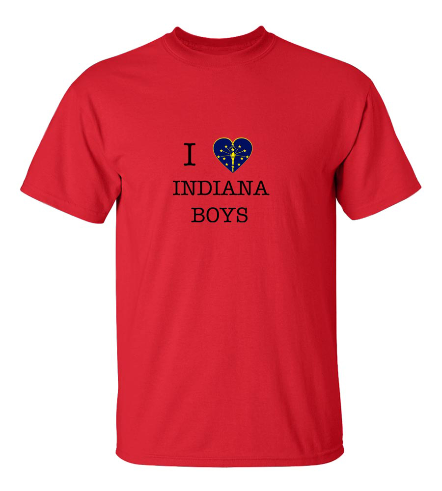 I Love Indiana Boys T-Shirt