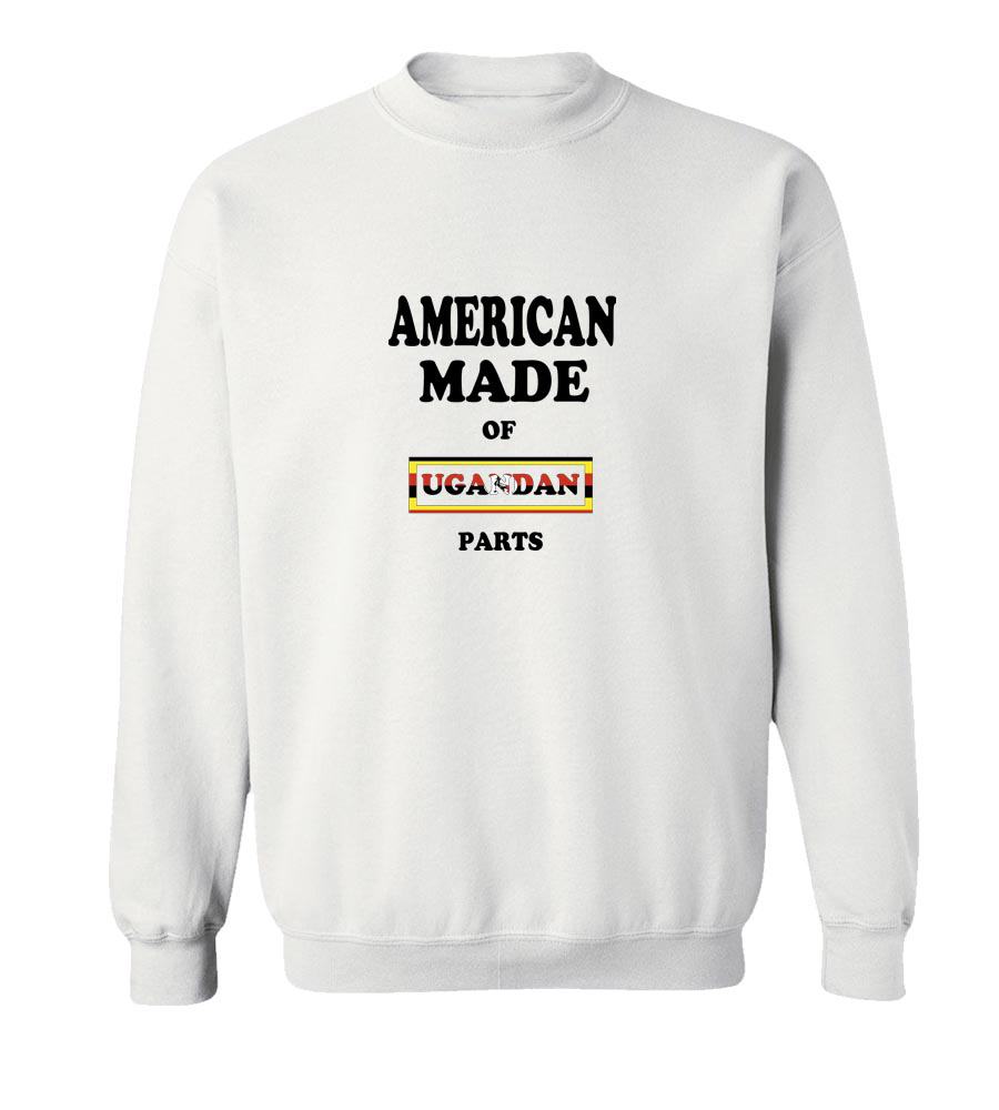 American Made Of Uganda Parts Crew Neck Sweatshirt