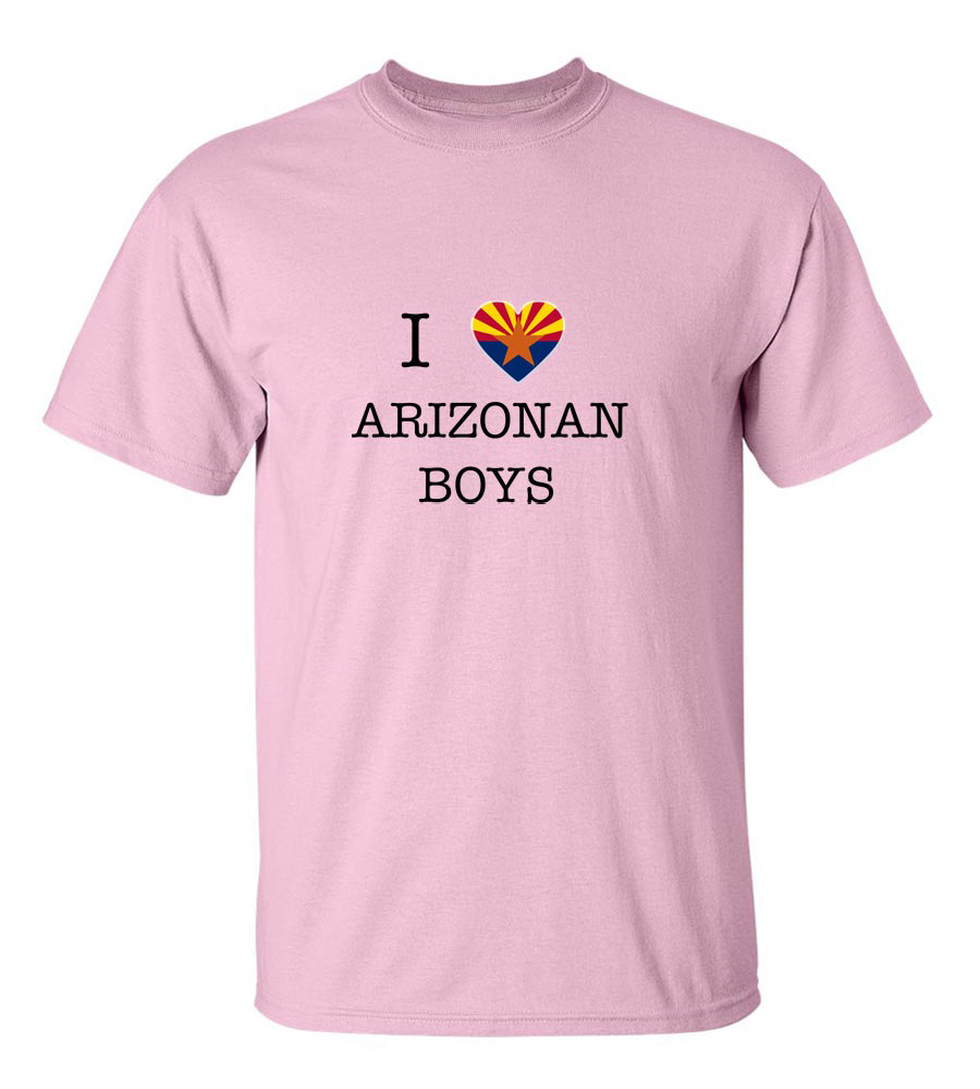 I Love Arizona Boys T-Shirt