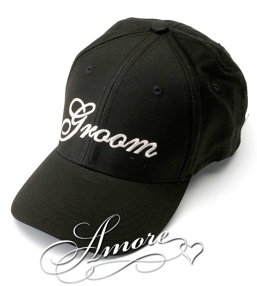 Groom Wedding Baseball Cap