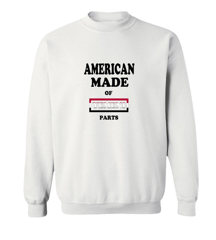American Made Of Yemen Parts Crew Neck Sweatshirt