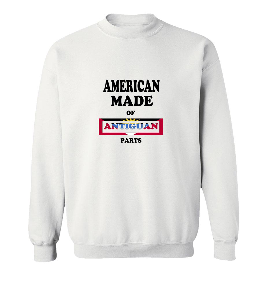 American Made Of Antiguan Parts Crew Neck Sweatshirt