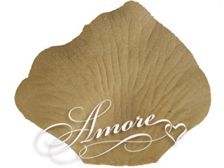 Champagne Beige Silk Rose Petals Wedding Bulk 10000