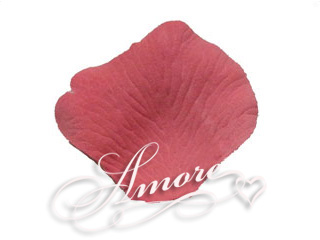 Smokey Pink Silk Rose Petals Wedding 200