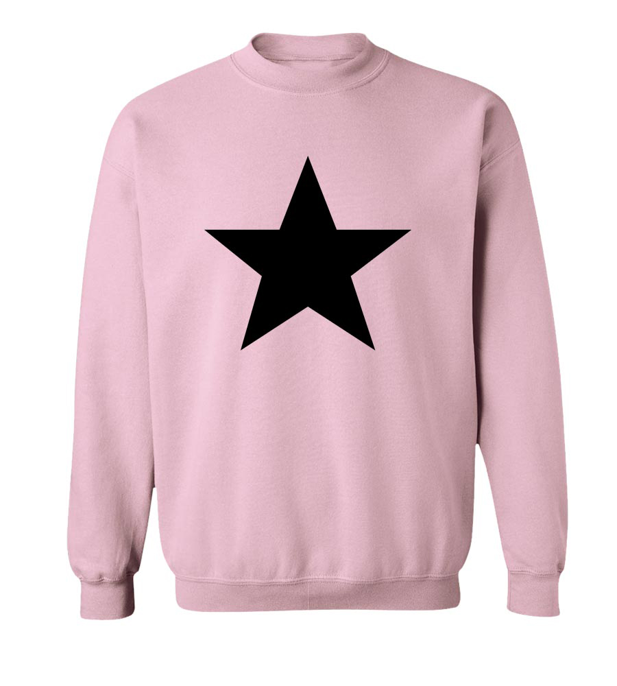 White Star Retro Crew Neck Sweatshirt
