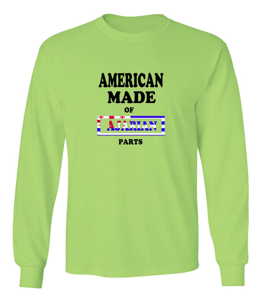 American Made of Ajaria Parts Long Sleeve T-Shirt