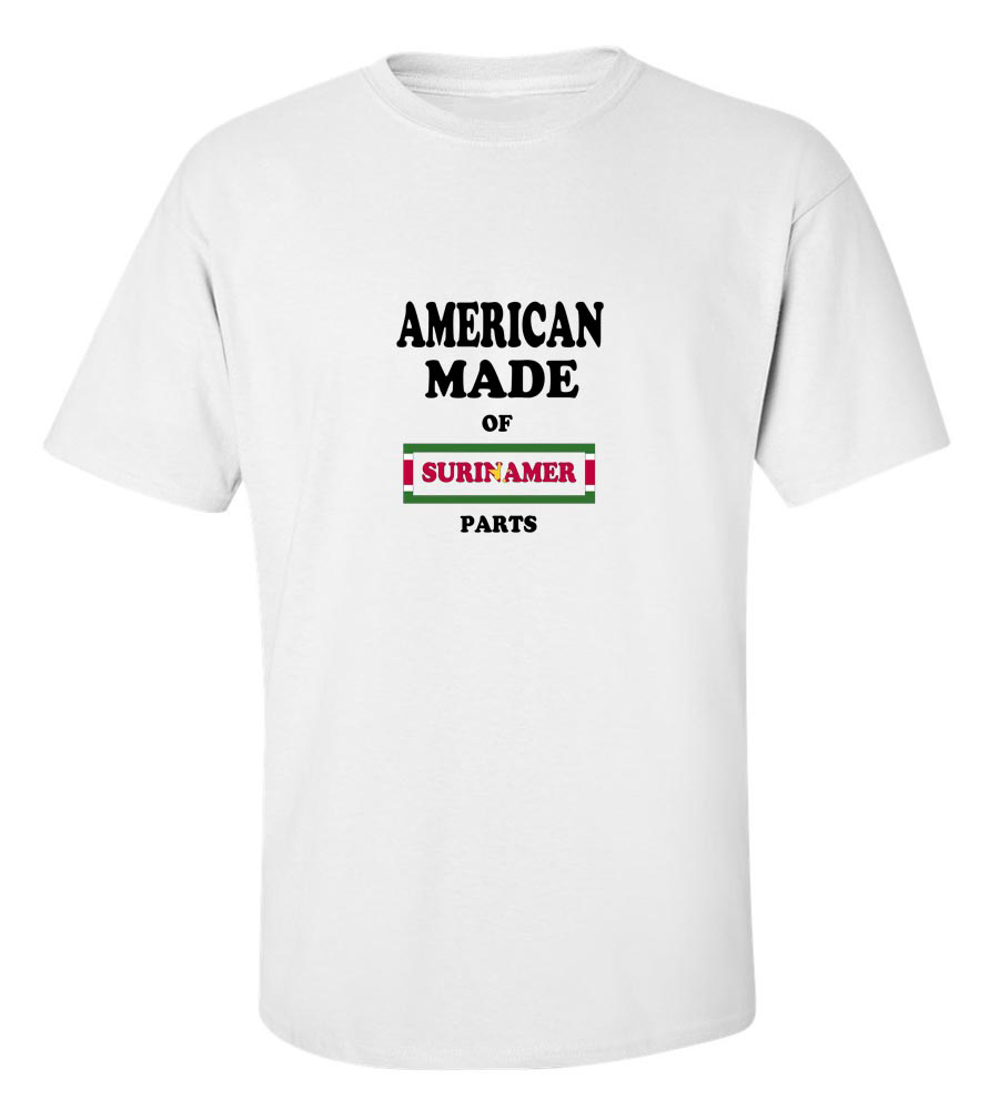 American Made Of Suriname  Parts  T-Shirt