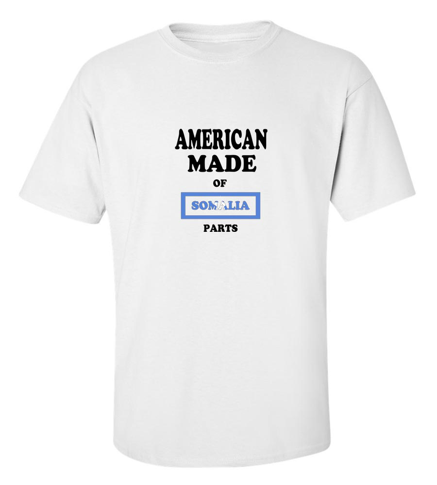 American Made of Somalia Parts T Shirt