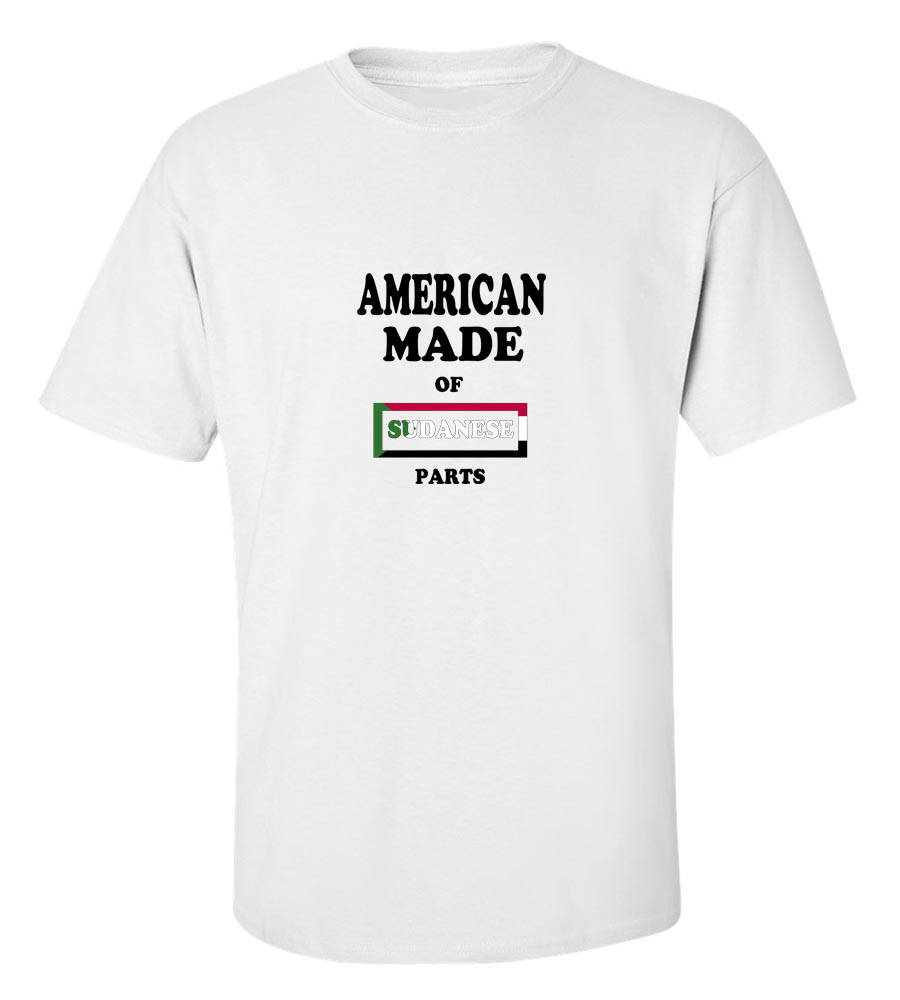 American Made of Sudan Parts T Shirt