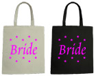 Brtide Wedding Canvas Tote Bag