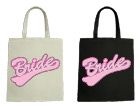 Bride Wedding Canvas Tote Bag