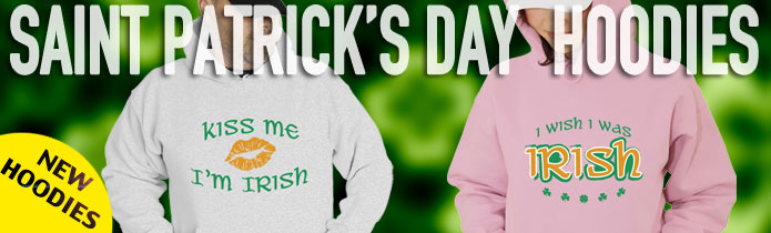 Saint Patrick's Day Hooded Sweatshirt