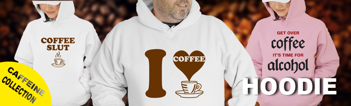 Caffeine Hooded Sweatshirt