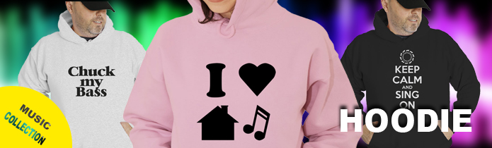 Music Hooded Sweatshirts
