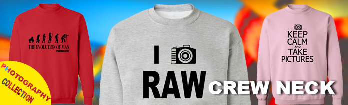 Photography Crew Neck Sweatshirts