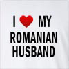 I Love my Romanian Husband Long Sleeve T-Shirt