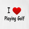 I Love Playing Golf T-Shirt