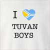 I Love Tuva Boys Crew Neck Sweatshirt