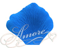 Cobalt Blue Medium Blue Silk Rose Petals Wedding 4000