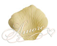 Yellow Canary Silk Rose Petals Wedding 600