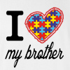 I Love My Brother Autism T-shirt