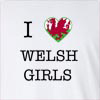 I Love Wales Girls Long Sleeve T-Shirt