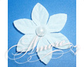 White Stephanotis Silk Rose Petals Wedding 600