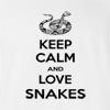 Keep Calm And Love Snakes T-Shirt