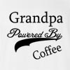 Grandpa Powered By Coffee T-Shirt