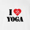 I Love Om Yoga T-shirt