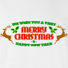 We Wish You a Very Merry Christmas and Happy New Year Crew Neck Sweatshirt