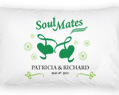 Personalized Pillow Case Set - Soul Mates