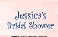 Personalized Bridal Shower Water Bottle Labels