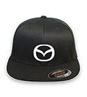 Mazda Flex-fit Black Hat