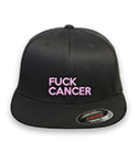 Fuck Cancer Flex-fit Black Hat