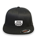 Jeep Flex-fit Black Hat