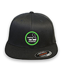 Vaping Flex-fit Black Hat