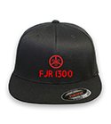 FJR 1300 Flex-fit Black Hat