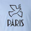 PRAYER FOR PARIS SHIRT Peace Symbol Eiffel Tower T-SHIRT
