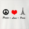 Peace Love Paris Crew Neck Sweatshirt
