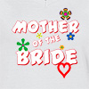 Ladies V Neck T-shirt Mother Of The Bride 03 T-shirt
