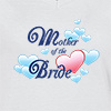 Ladies V Neck T-shirt Mother Of The Bride Print T-shirt