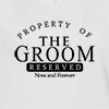 Ladies V Neck T-shirt Property Of The Groom T-shirt