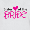 Ladies V Neck T-shirt Sister Of The Bride T-shirt