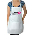 Kiss the Bride Wedding Apron