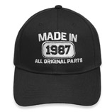 30th Anniversary Made In 1987 All Original Parts  Hat Cap